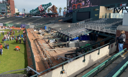 Giants raise fence height in Center Field at AT&T Park