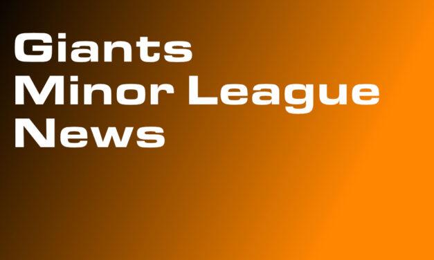 Giants Extend Minor League Stipends Through Sept. 7th