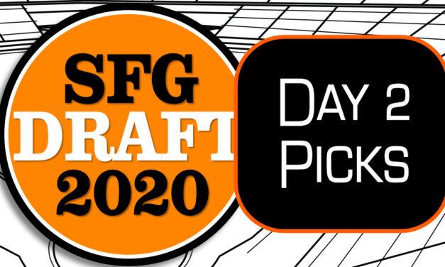 SF Giants Day 2 Picks – 2020 Draft