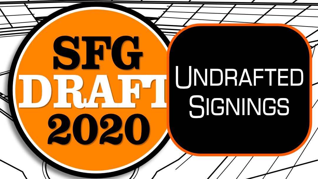 Giants: Undrafted Player Signings