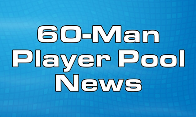 Giants release their initial 60-Man Player Pool