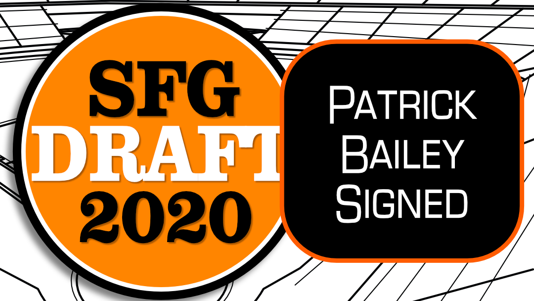 Giants Sign Patrick Bailey, Add Him To 60-Man Pool