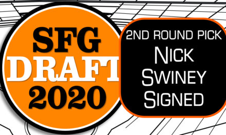 Giants Sign 2nd Round Pick Nick Swiney