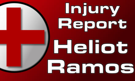 Ramos' Fall May Have Ended With Oblique Injury