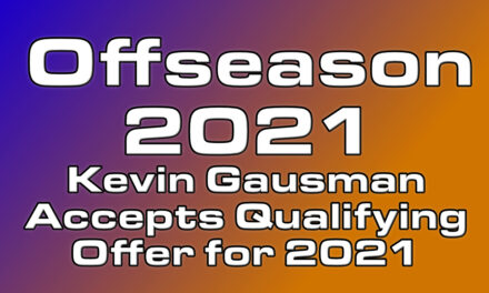 Kevin Gausman returns for 2021 by accepting QO