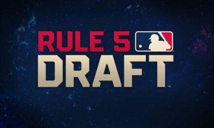Giants add 4, lose 1 in Rule 5 Draft