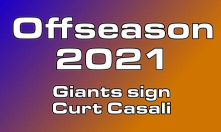 Giants sign Catcher Curt Casali