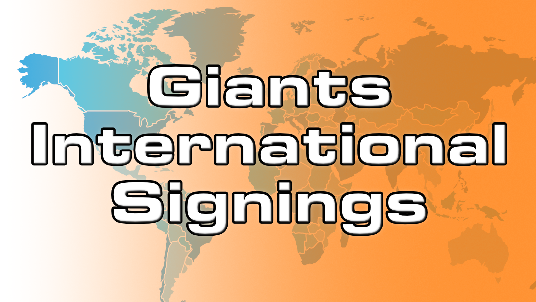 Giants sign 34 prospects on the first day of the Signing Period