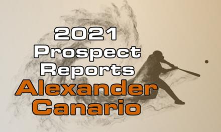 Alexander Canario Prospect Report – 2021 Offseason