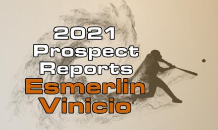 Esmerlin Vinicio Prospect Report – 2021 Offseason