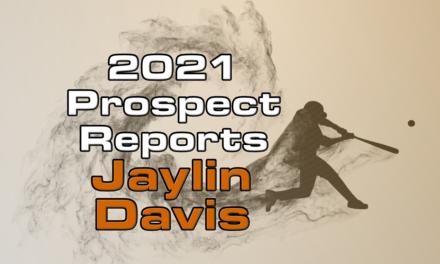 Jaylin Davis Prospect Report – 2021 Offseason