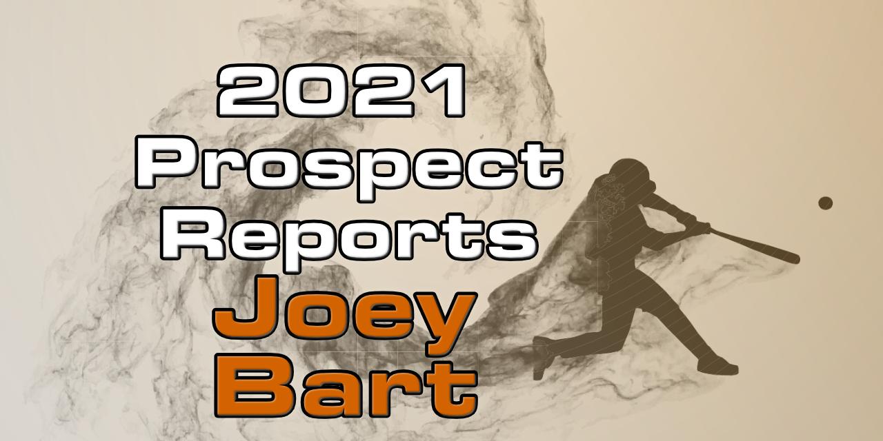 Joey Bart Prospect Report – 2021 Offseason