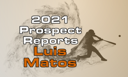 Luis Matos Prospect Report – 2021 Offseason