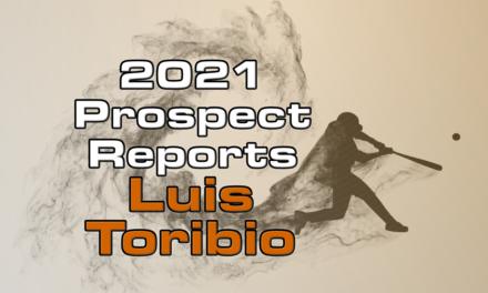 Luis Toribio Prospect Report – 2021 Offseason