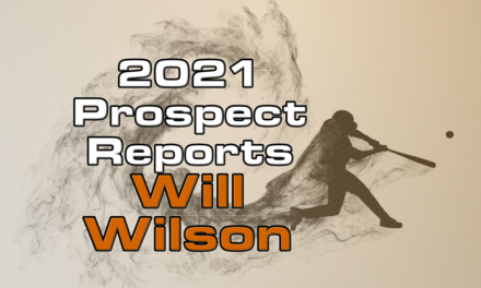 Will Wilson Prospect Report – 2021 Offseason