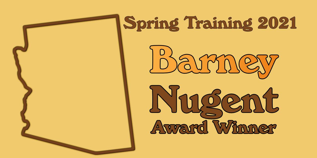 Ramos wins 2021 Barney Nugent Award