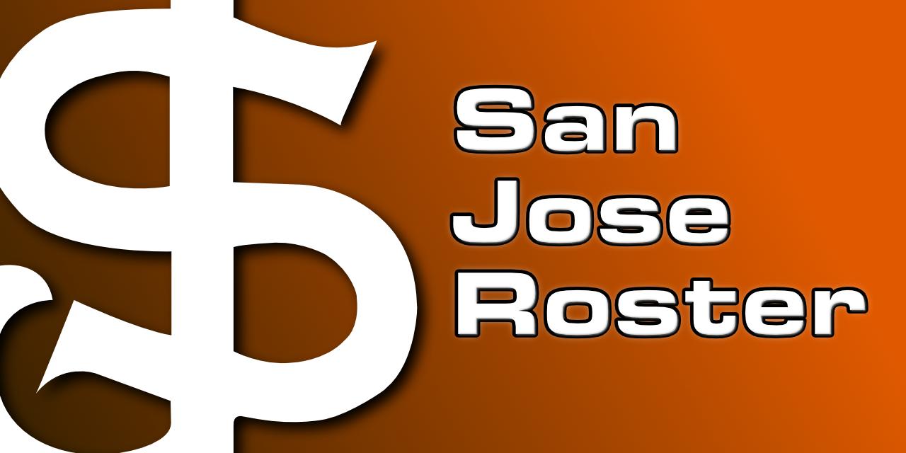 San Jose Roster: Loaded
